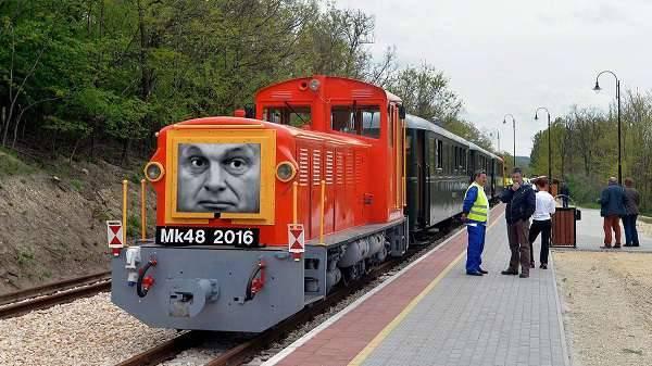 1 milliárd Orbán kicsit nagyobb vasútjára