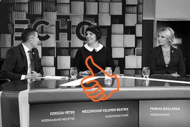 Mészárosné - a Lőrincé - is nemzeti polihisztor - most az Echo TV igazgatóságának elnöke lett