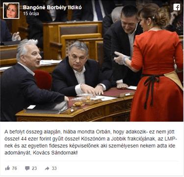 44 ezret jótékonykodtak a parlamentben a közszolgák - hogy oda ne rohanjunk!