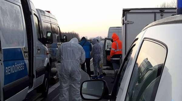 Gyilkosság történt az M5-ös autópályán