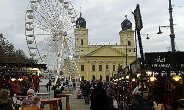 Adventi hangulat Debrecenben
