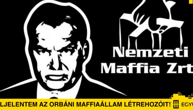 Berkecz Balázs: Feljelentem az orbáni maffiaállam létrehozóit!