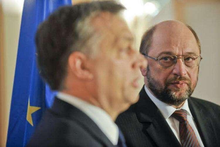 Martin Schulz: Orbán megtorpedózza a menekültek elosztását