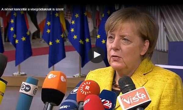 Unióscsúcstalálkozó: Merkel finoman beszólt Orbánnak