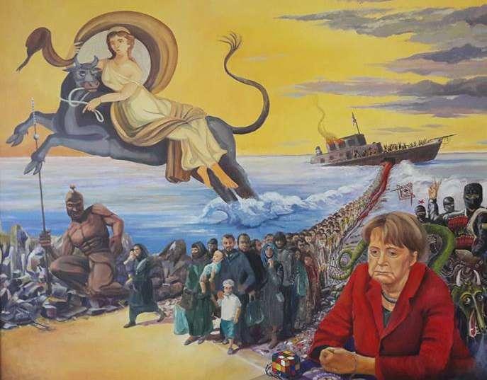 Orbán-ihlette naiv borzadály Kehidakustányban