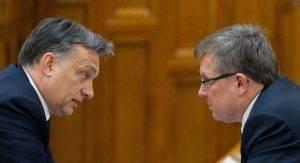 Matolcsy György és Orbán - leszakadók között vagyunk