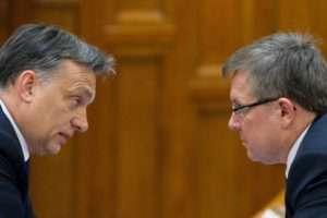 Matolcsy György és Orbán