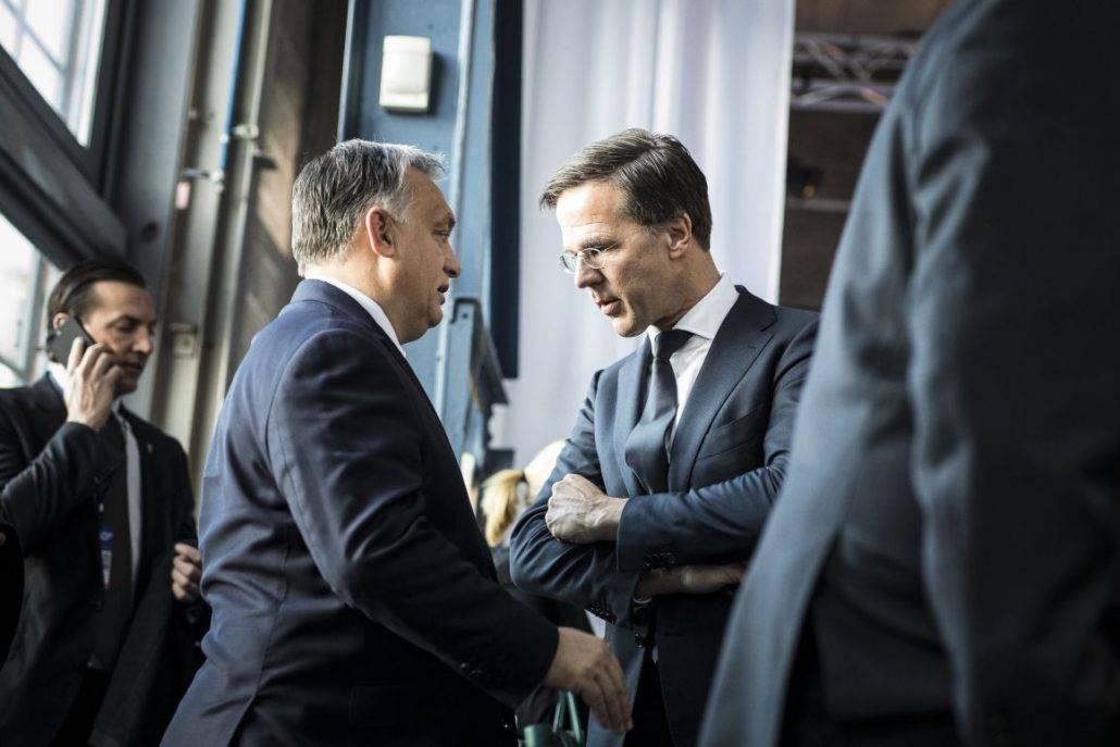 Holland kormányfő: mit keres még a Fidesz a Néppártban