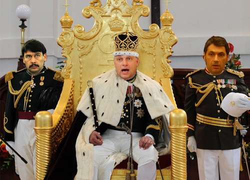 Alkotmányos monarchiát!