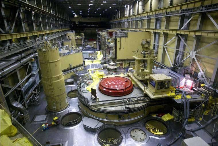 Süllyed a paksi reaktor