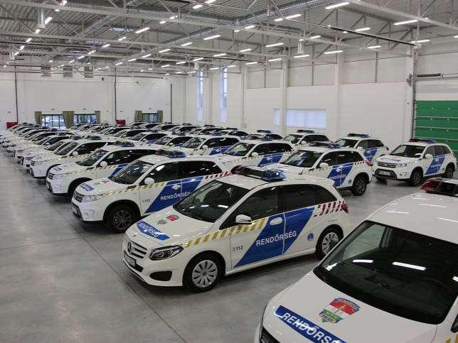 Csaknem 34 milliárdért vett új gépkocsikat a rendőrség
