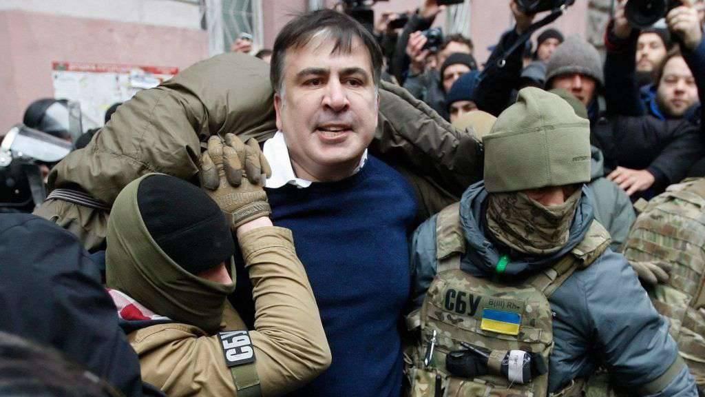 Megint őrizetbe vették Szaakasvili volt odesszai kormányzót