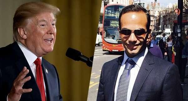 Trump és George Papadopoulo