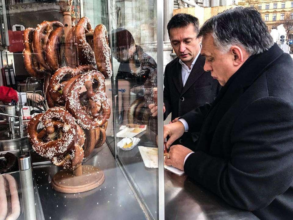 Nyugodj meg, Magyar az ügy sínen van! Orbán eszik!