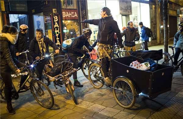 Budapest Bike Maffia: Ételmentés projekt