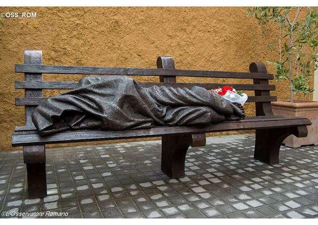 Hajléktalan Jézus
