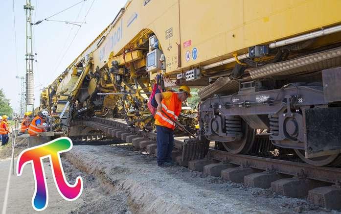 Magyar vasútépítés a Pí jegyében - milliárddal szorozva