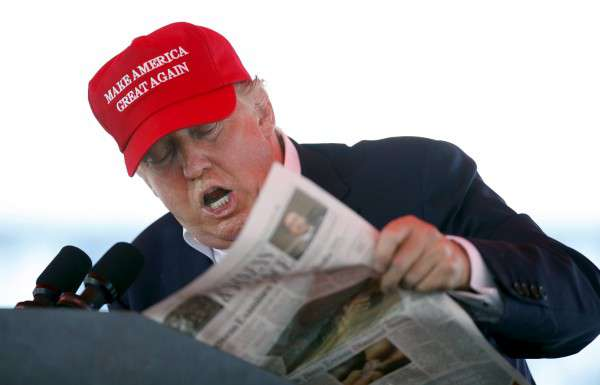 donald trump újságírók