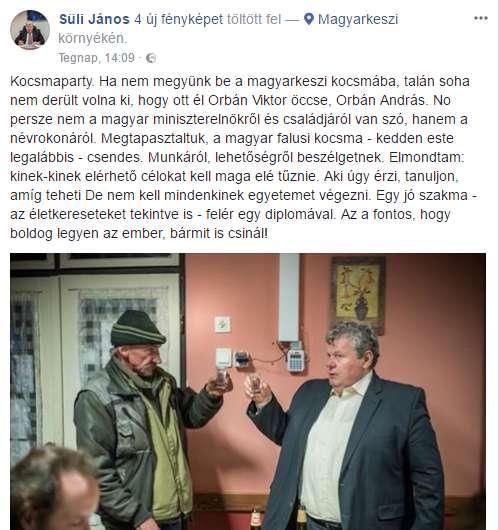 Rétvári nem tartja fontosnak, hogy emberek fagynak meg Magyarországon