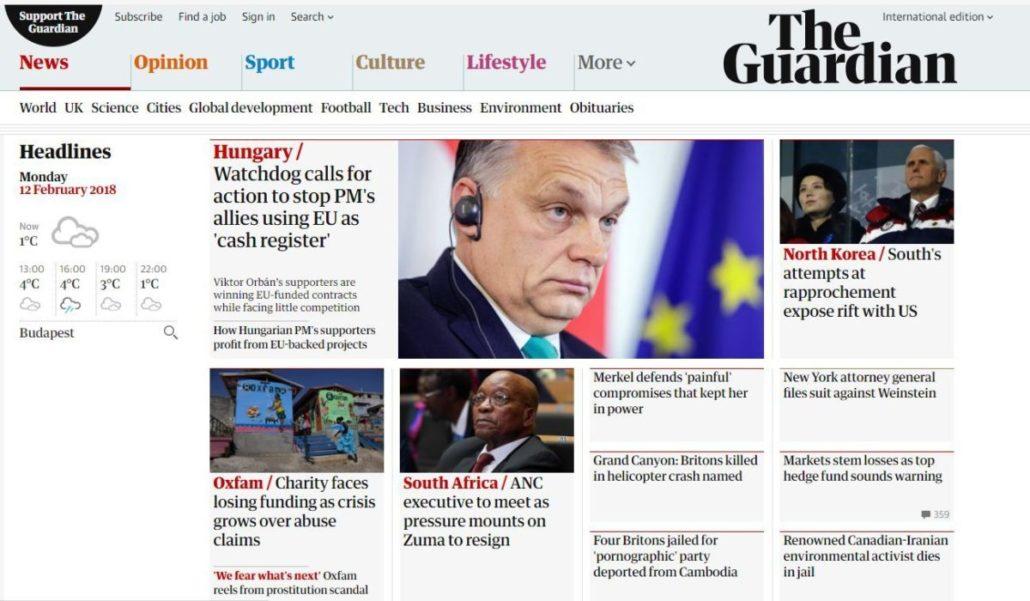 Világhír Orbán-módra, vagy mindegy, hogy mit, csak írjanak?