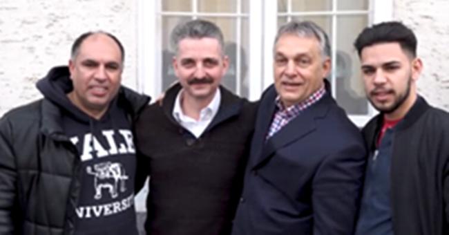 """Orbán újra spontán """"polgártlátogat""""! - már azt a rohadt rántott húst sem lehet békében megzabálni?"""