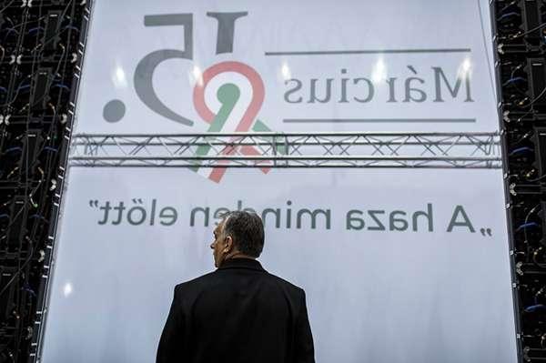 Orbán és a fal