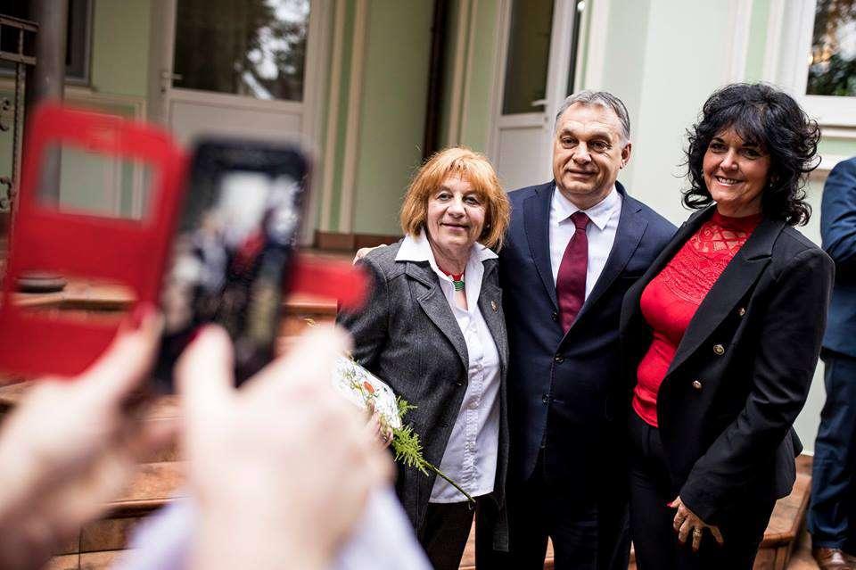 A nő, akinek Orbán a legszebb szülinapi ajándék....