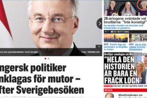 Semjén 15 perc hírneve - ha kedd, akkor Svédországban Semjén.....