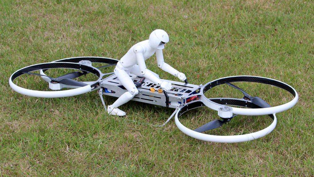 Drónokkal versenyeznek