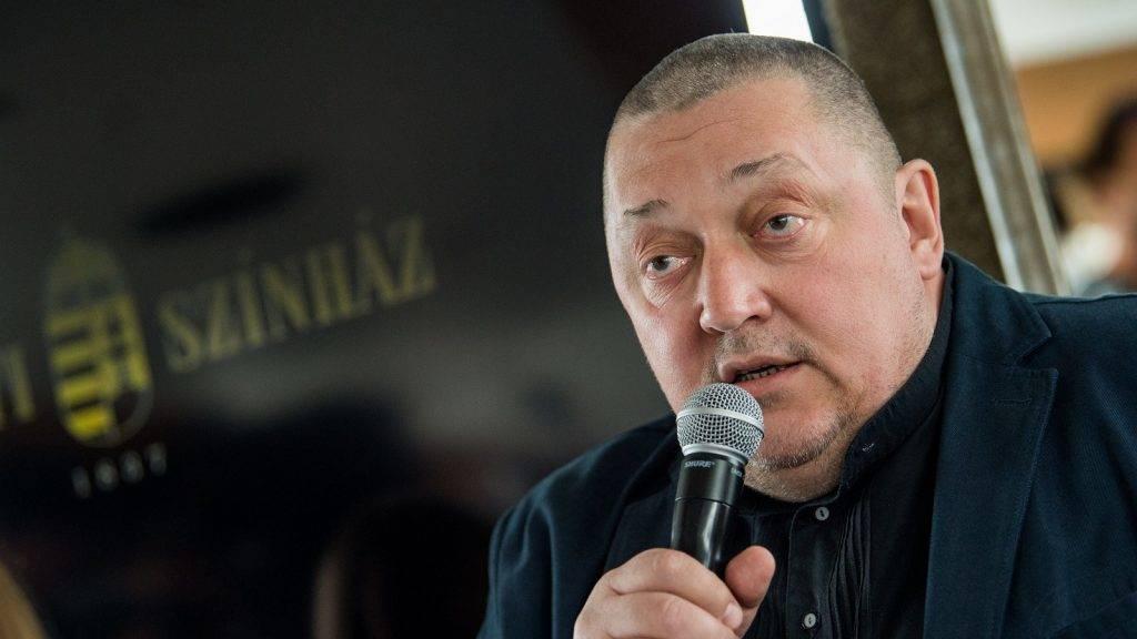 Vidnyánszky Attila: a tao a magyar színházi élet rákos daganata