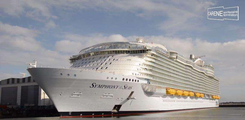 Itt a világ legnagyobb hajója - Symphony of the Sea