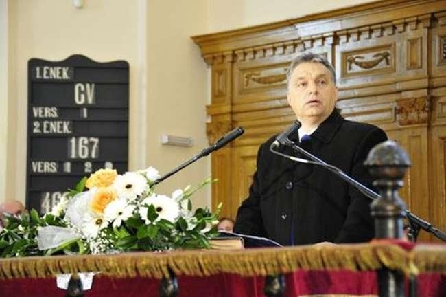 Orbán egyháza gratulált és várja a további önzetlen közpénzt