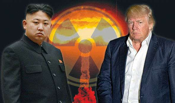 Kimdzsong, Trump