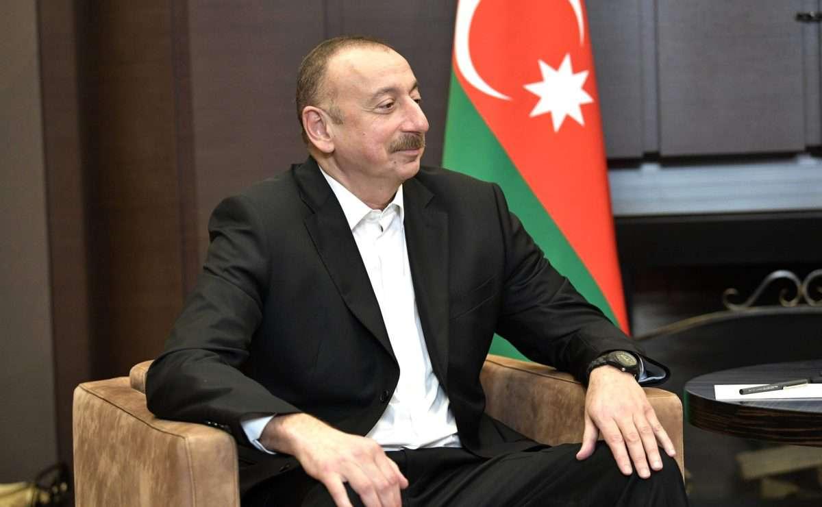 Ilham Alijev azeri elnök