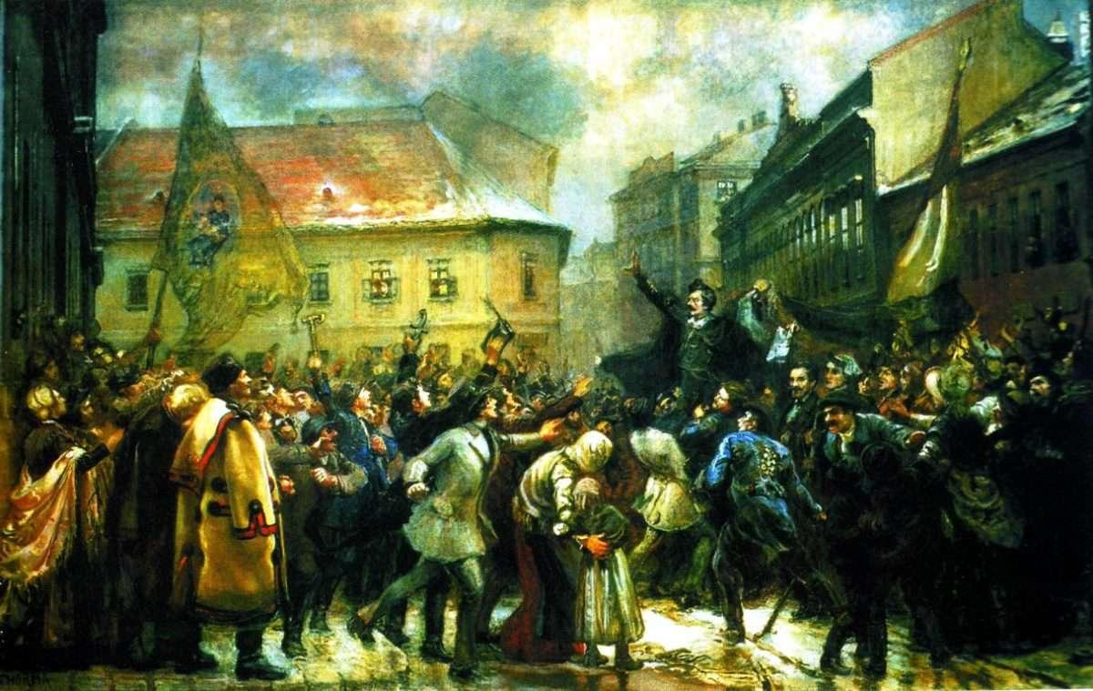 Talpra Magyar! Hív a Szabadság! - demonstráció