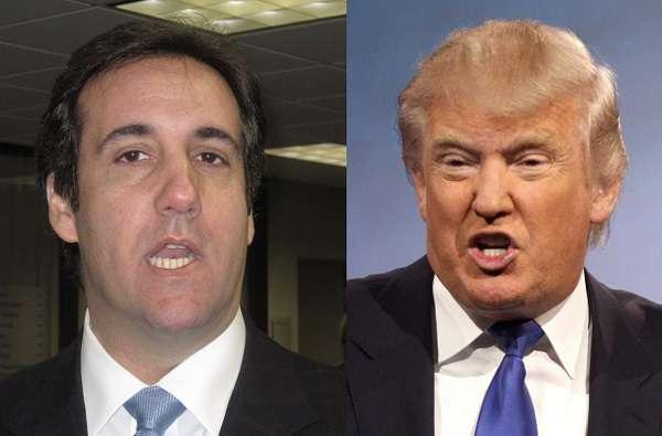 Michael Cohen és Donald Trump