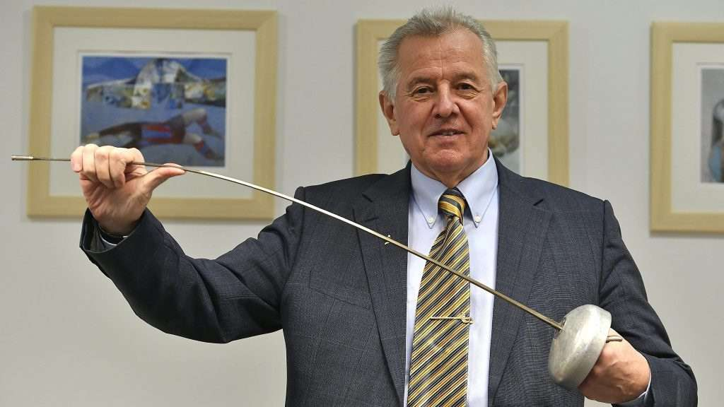 Schmitt Pál, a géppuskalábú ex vívó és köztársasági elnök