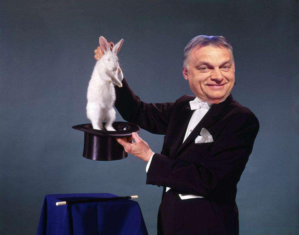 Orbán a bűvész