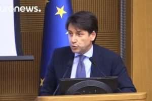 Giuseppe Conte új olasz kormány