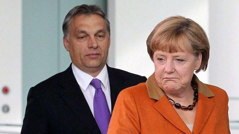 Orbán-merkel