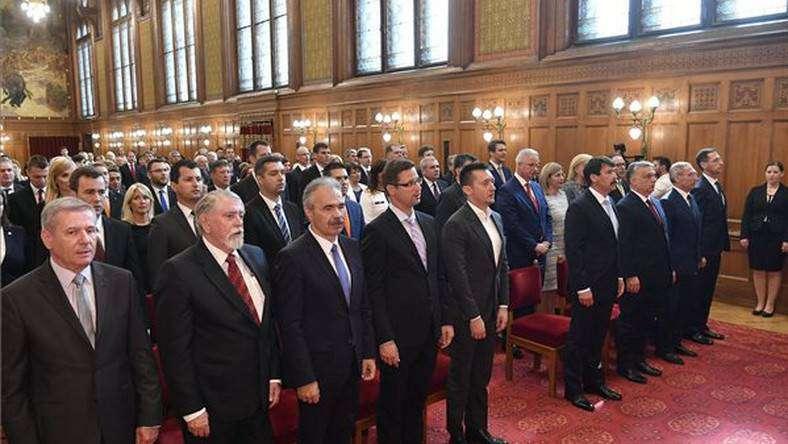 Orbán-kormány államtitkárok esküje