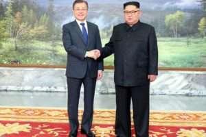 Kim Dzsong Un és Mun Dzse In