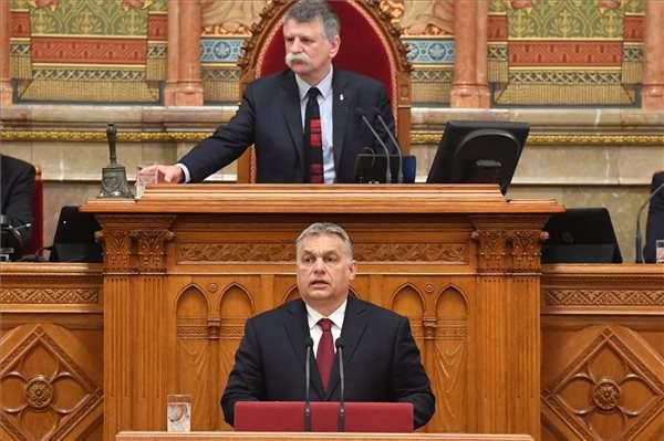 Orbán Viktor parlamenti beszéde