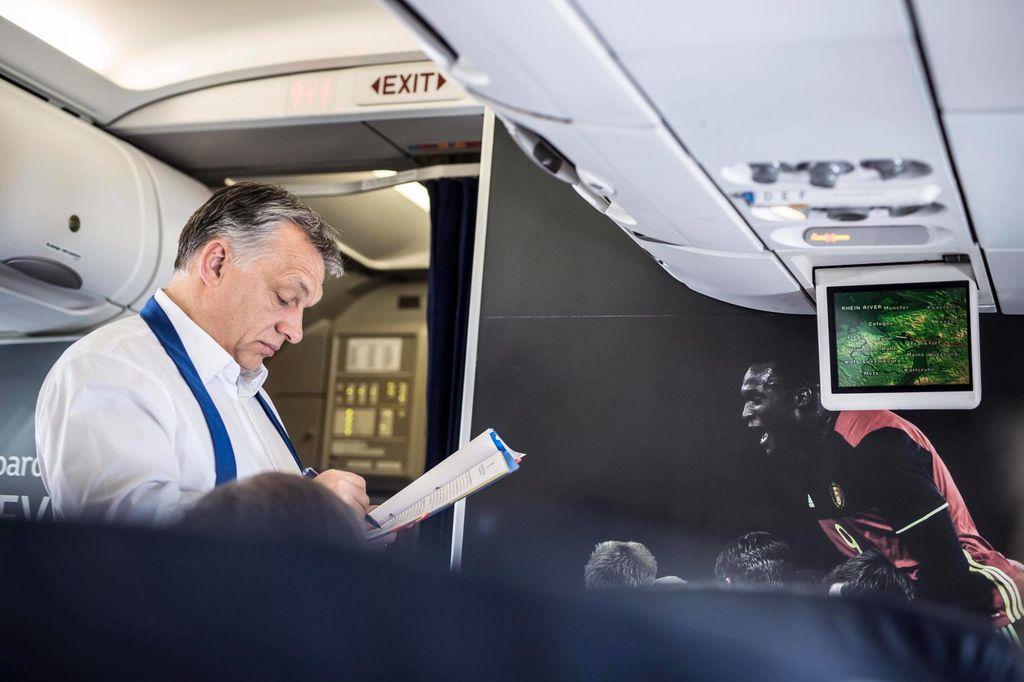 Orbán repülön - parlamenti bizottság vizsgálná