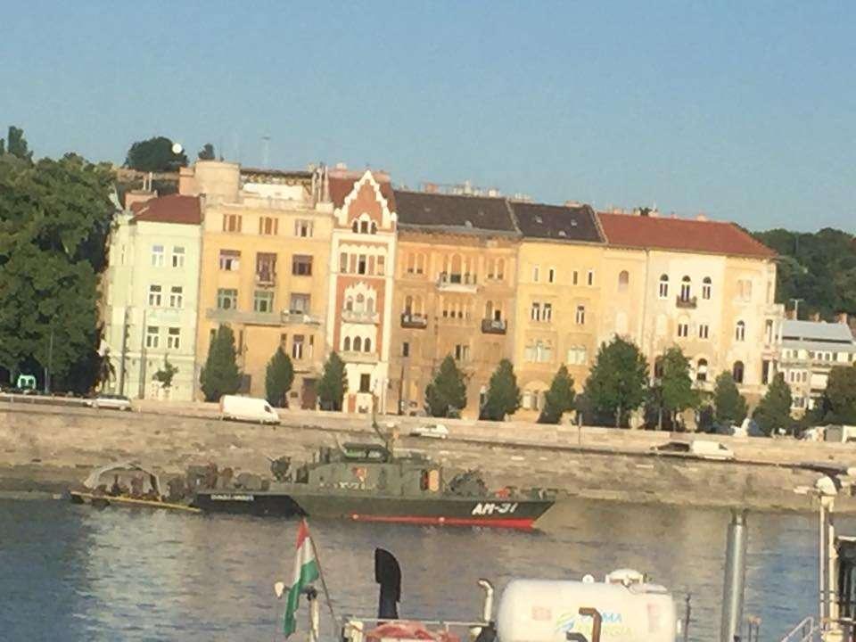 A Dunában bujkáló bomba esete - egyelőre keresik....