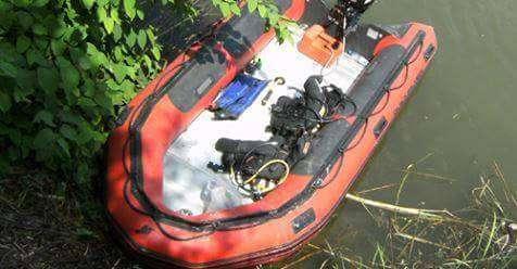 A ráckevei múzeum csónakja