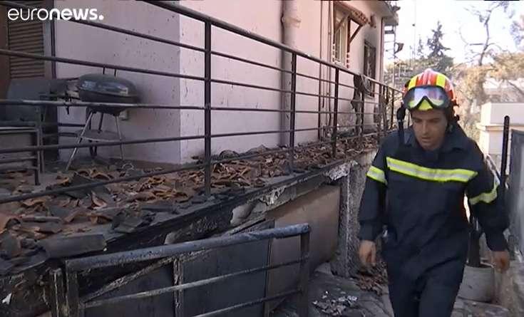 görög bozóttűz - eltünteket keresnek a mentők