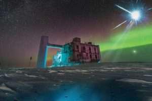 neutrínók származását kutatja az IceCube