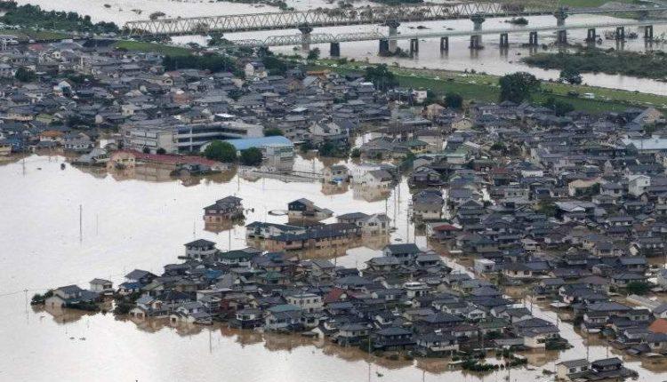 Japán áradás