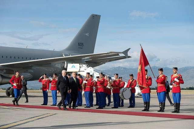 a kormányfő Montenegróban